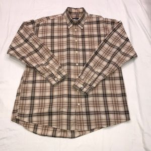 Burberry 💯% Classic Check Plaid 🇺🇸Made XL EUC